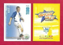Blackburn Rovers Andy Todd (SO07)